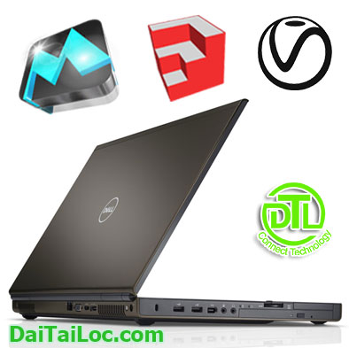 Laptop dell M4800 Core i7