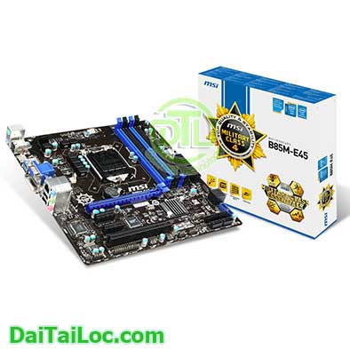 Mainboard msi b85 e45