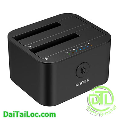 Mini Clone Hard Drive Docking Station USB 3.0 to SATA Unitek