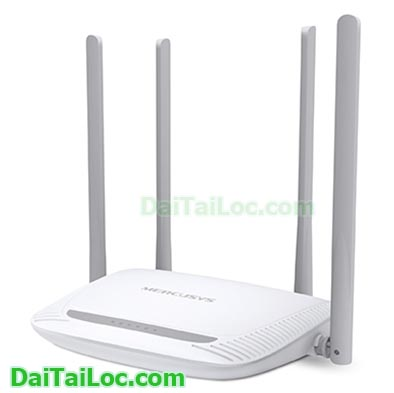 Router mercusys mw325r 4 angten Mbps