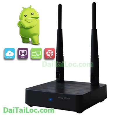 TV Box Android Measy a2w Pro 2 Antens